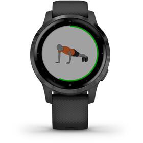 Garmin Vivoactive 4S Reloj Inteligente, black/slate grey